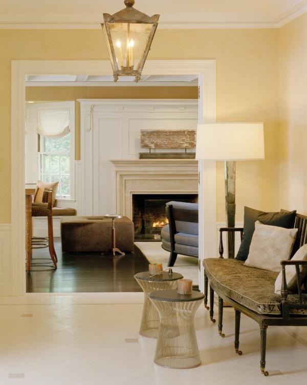 Brookline Period Home Renovation Sitting Area