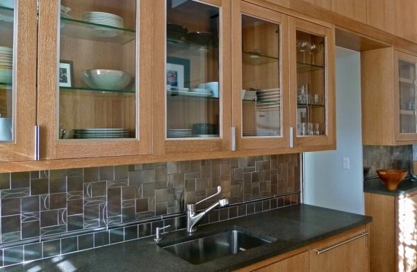 Boston Back Bay Renovation Kitchen Cabinets