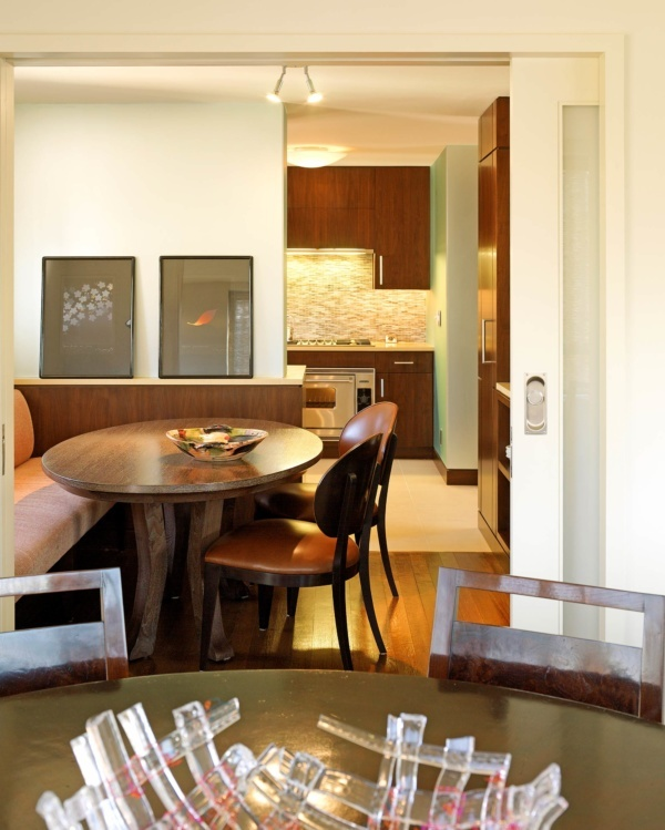 Upper East Side Family Apartment Dining Room