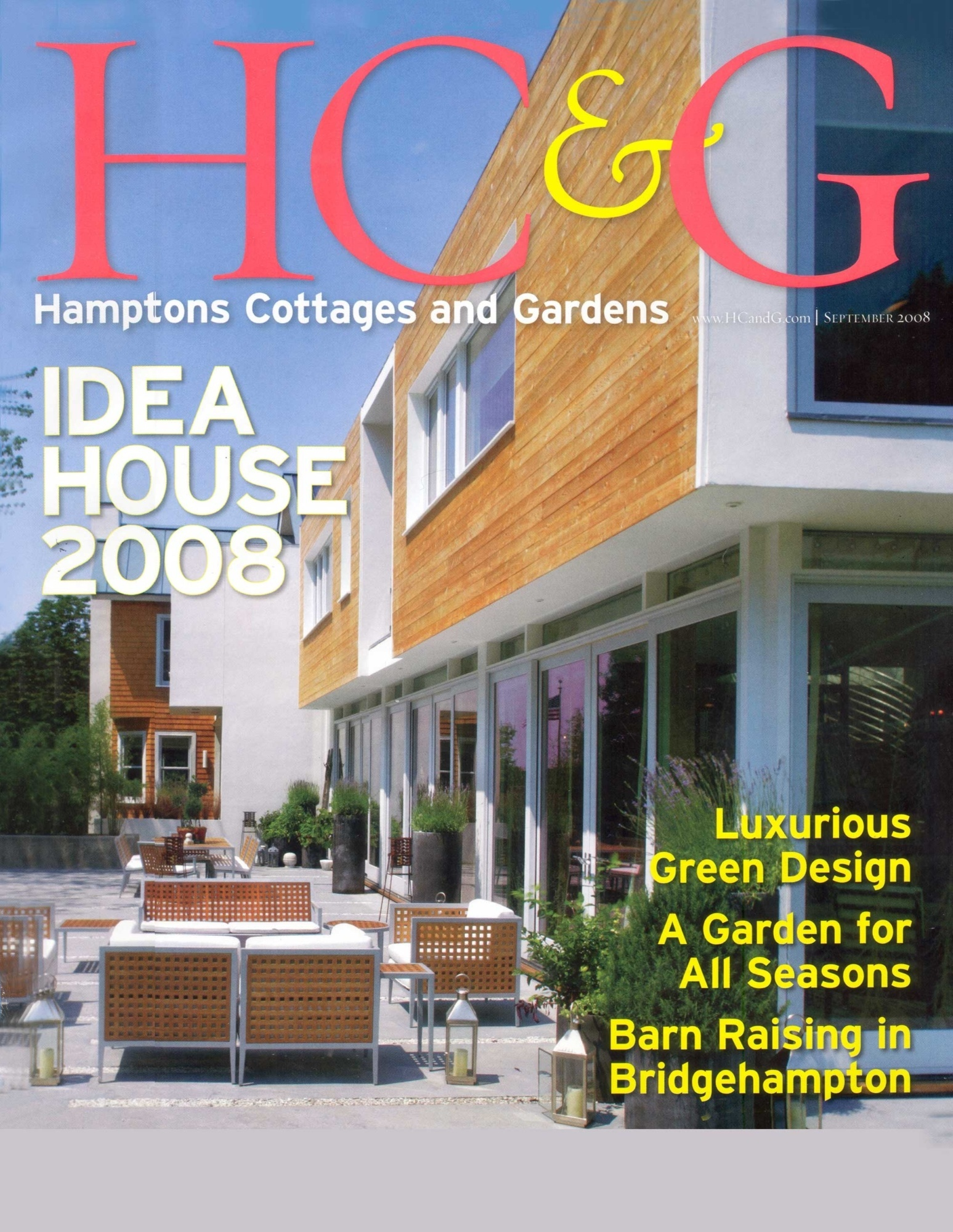 Hamptons Cottages & Gardens 2008