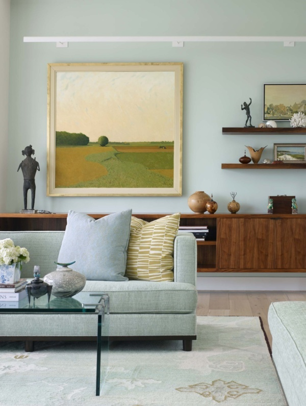 Sag Harbor Modern Waterfront Living Room