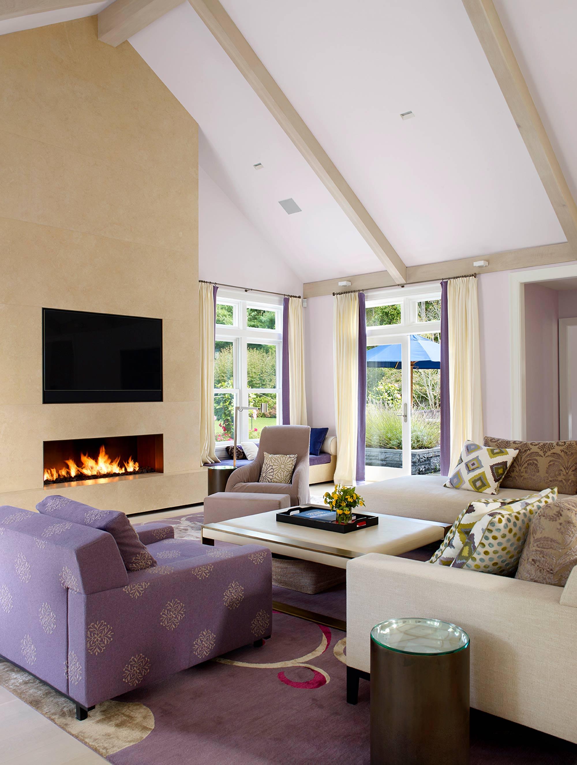 Georgica Residence Living Room