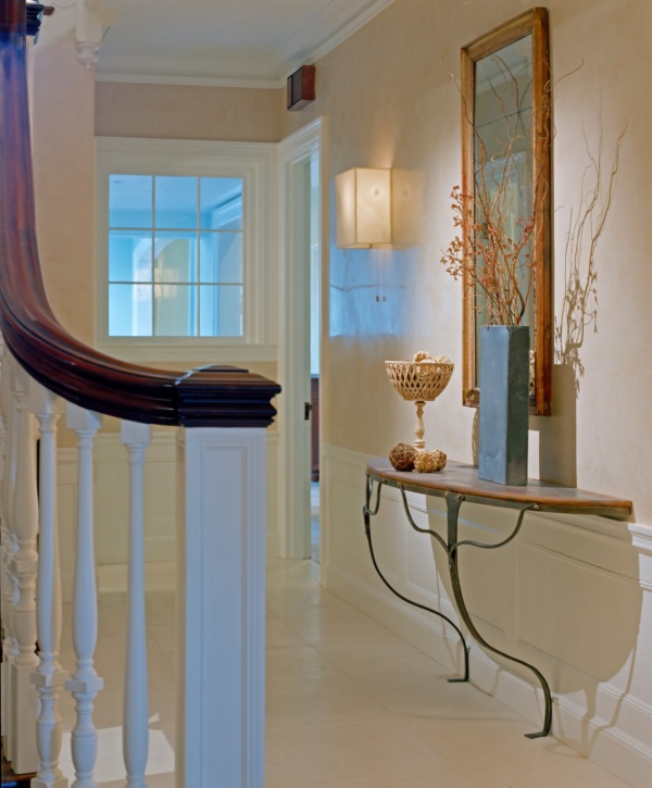 Brookline Period Home Renovation Foyer