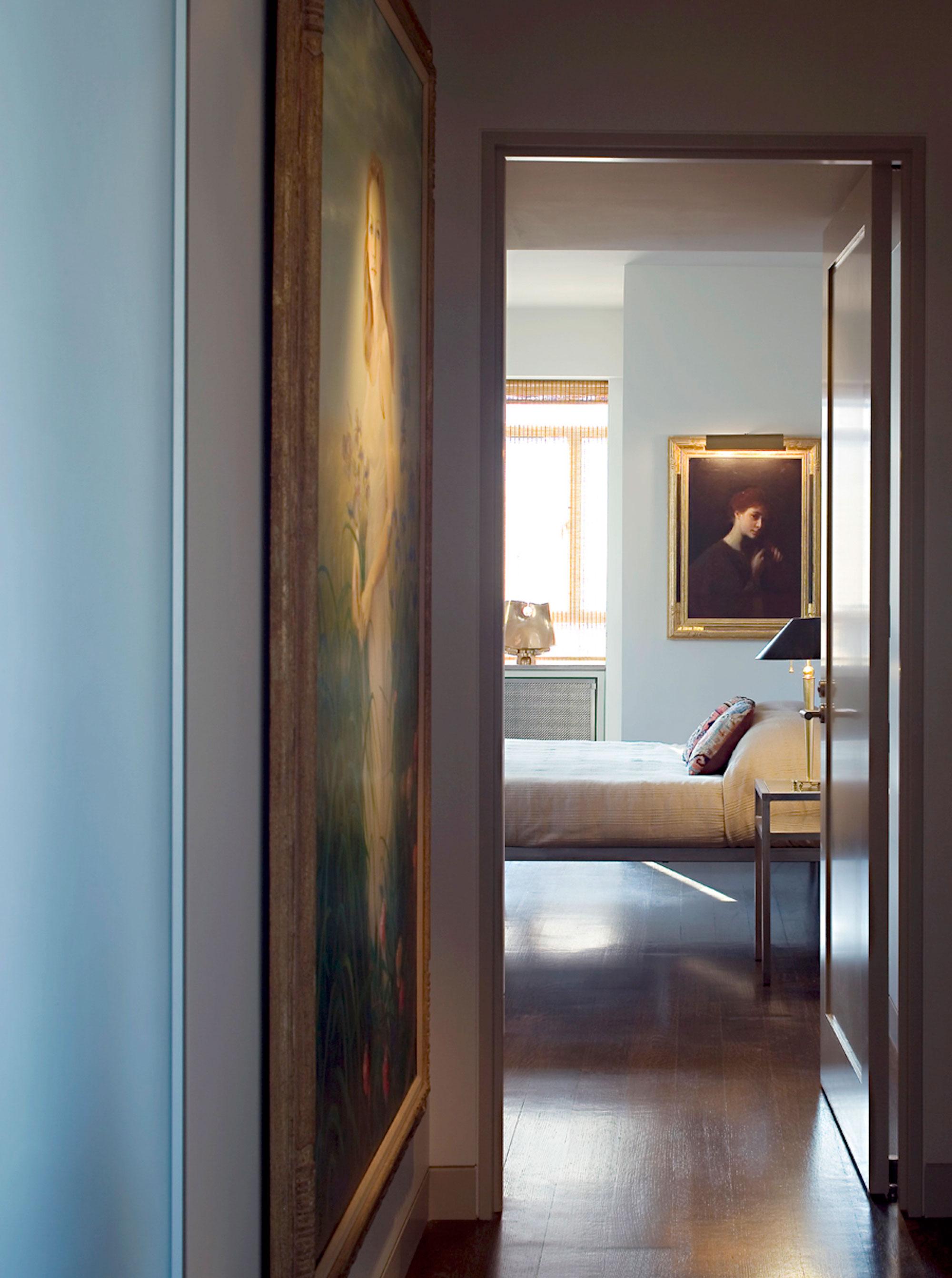 Central Park West Tower Apartment Bedroom Entrance