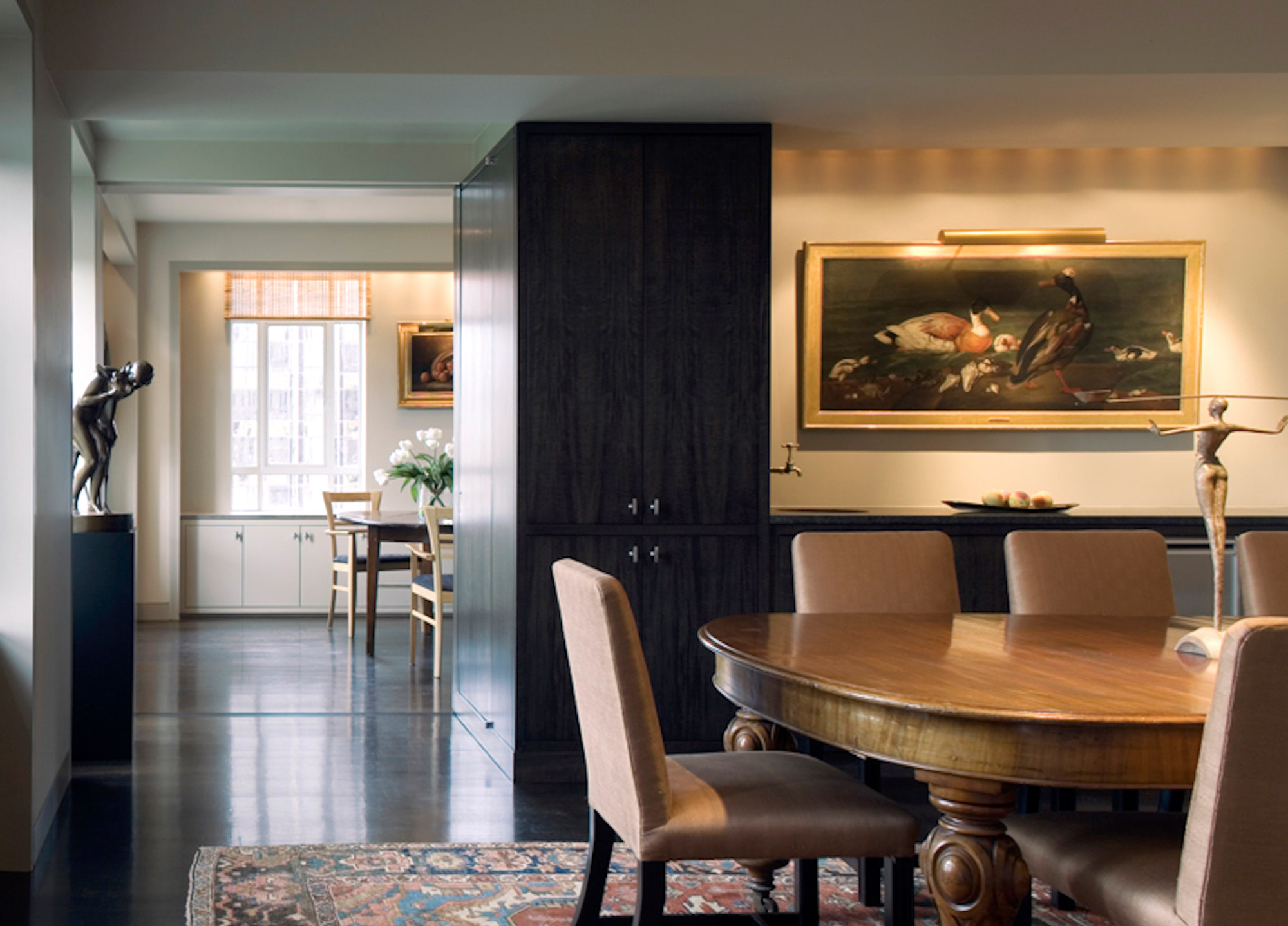 Central Park West Tower Apartment Dining Room