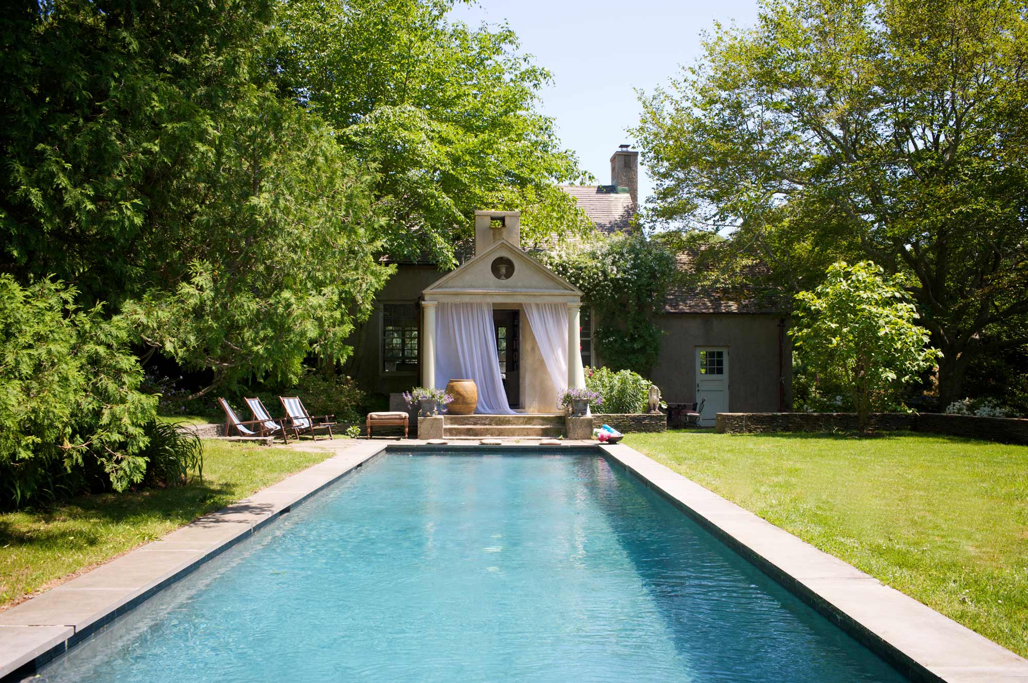 Hamptons Retreat Swimming Pool