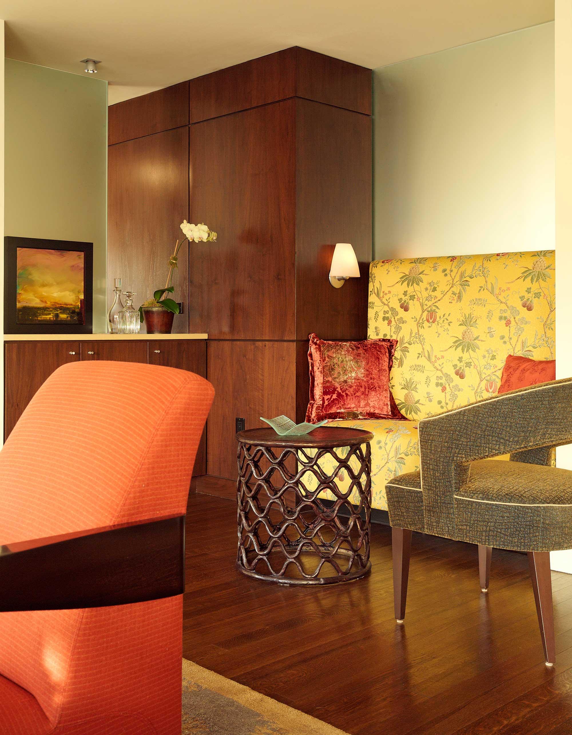 Upper East Side Family Apartment Living Room