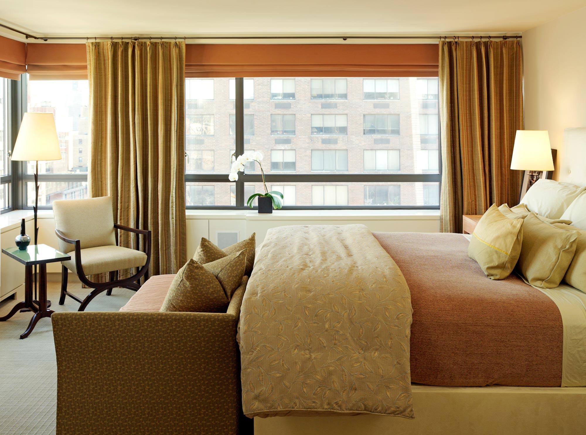 Upper East Side Family Apartment Master Bedroom
