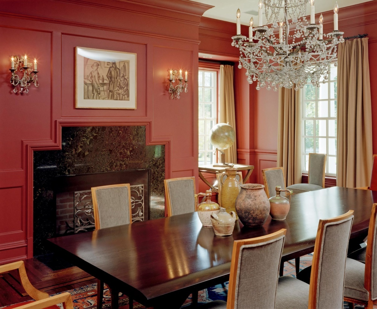 Westchester Farmhouse Dining Room Detail