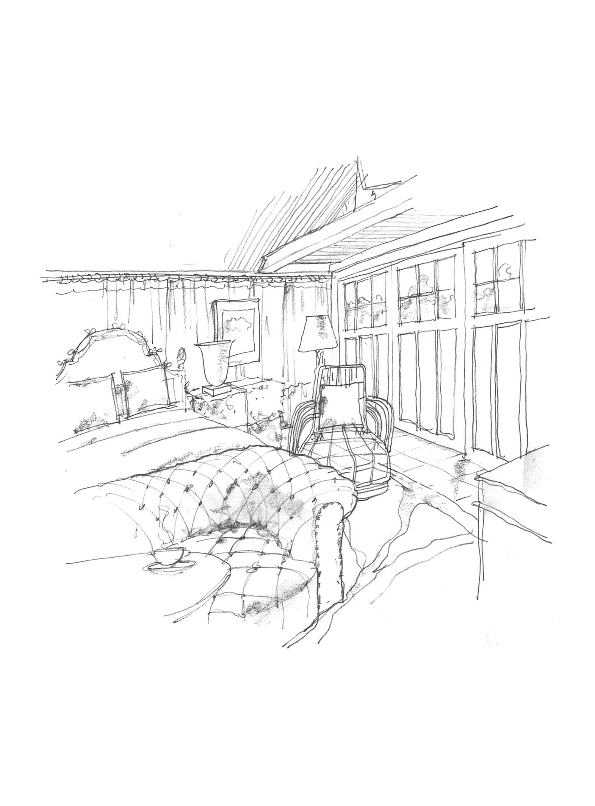 Animal Rescue Fund Hamptons Showhouse Rendering