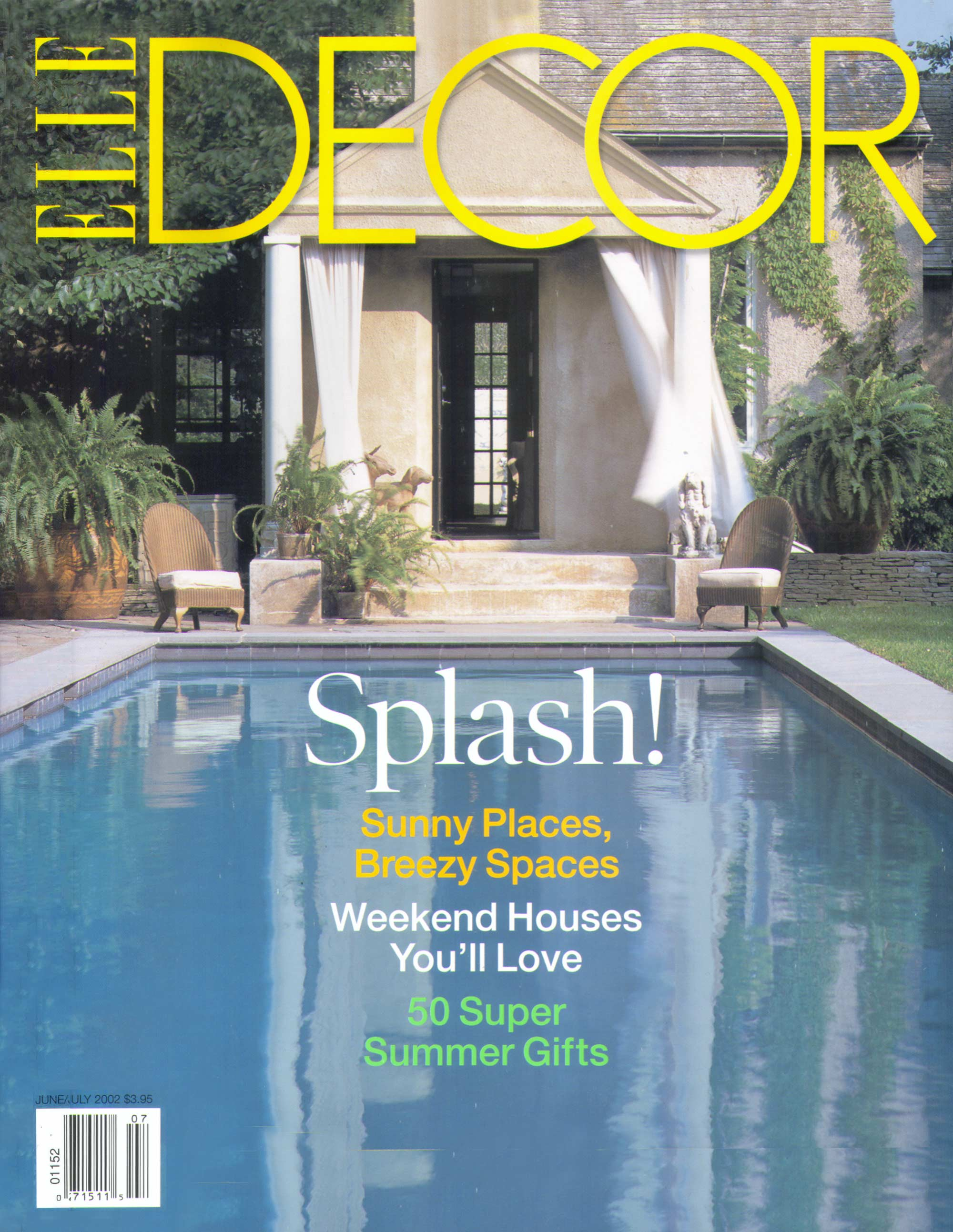 Elle Decor June July 2002 Stedila Design