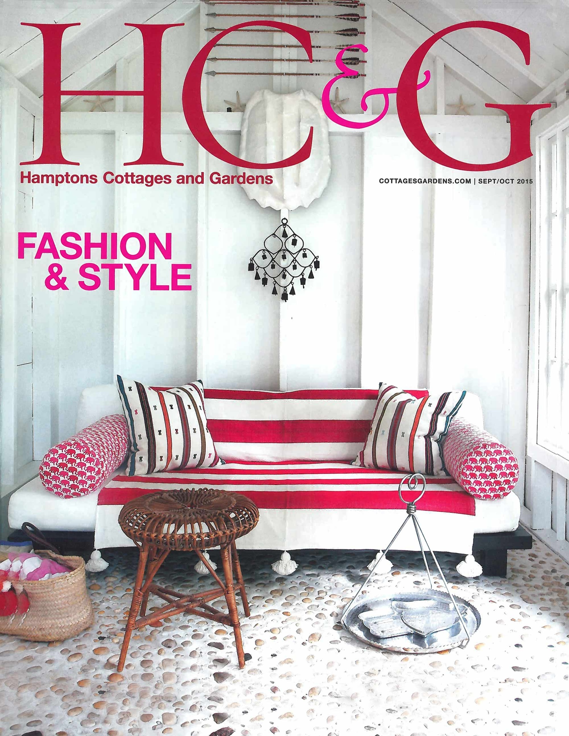 Hamptons Cottages and Gardens Sept Oct 2015 Stedila Design
