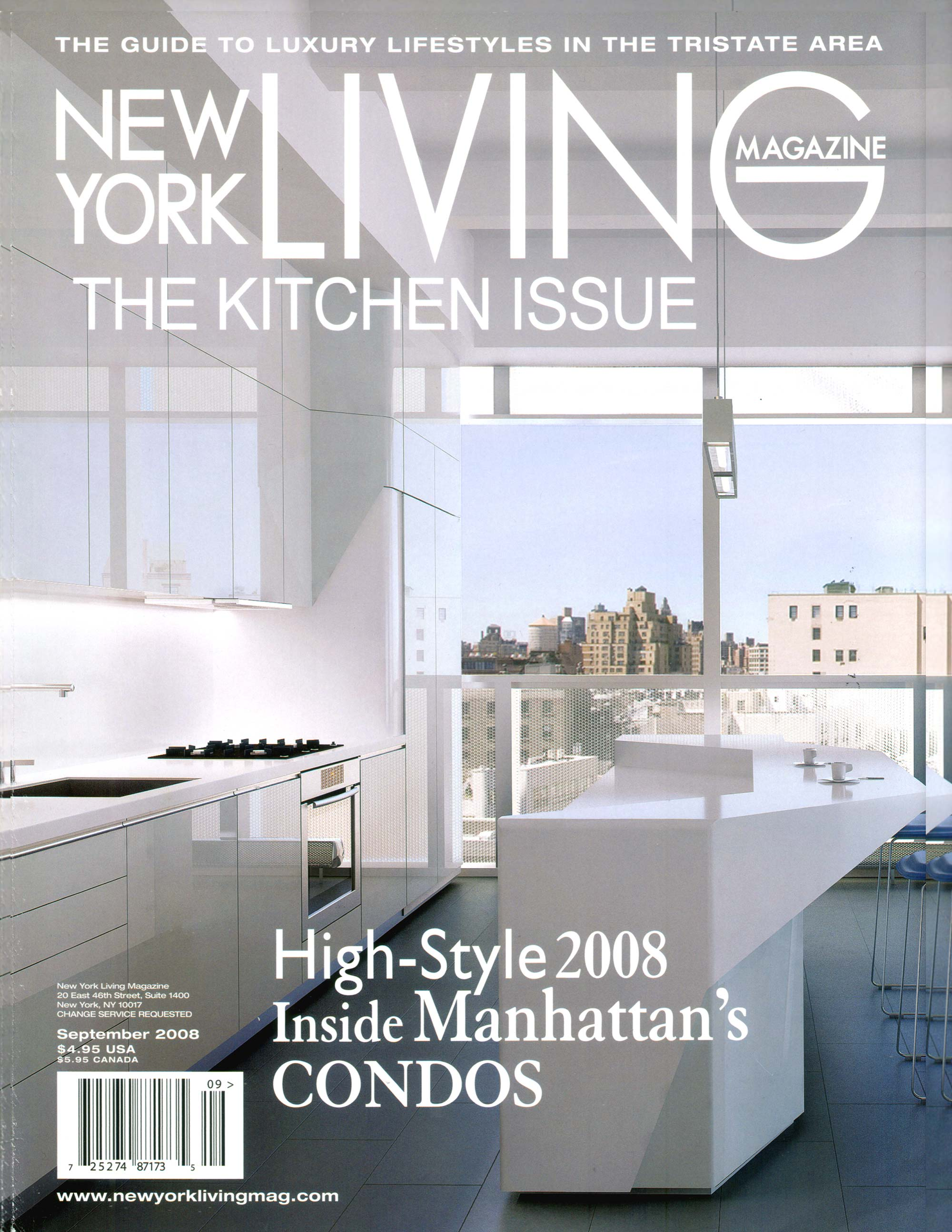 New York Living September 2008 Stedila Design